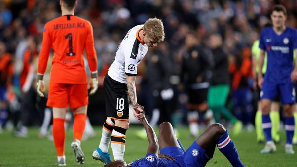 Chelsea thwarted by Valencia in Champions League thriller