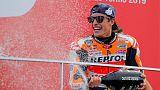 MotoGP champion Marquez has shoulder surgery