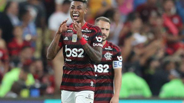 Champions Flamengo win again with Bruno Henrique hat trick