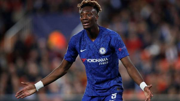 Chelsea's Abraham says hip injury not as bad as initially feared