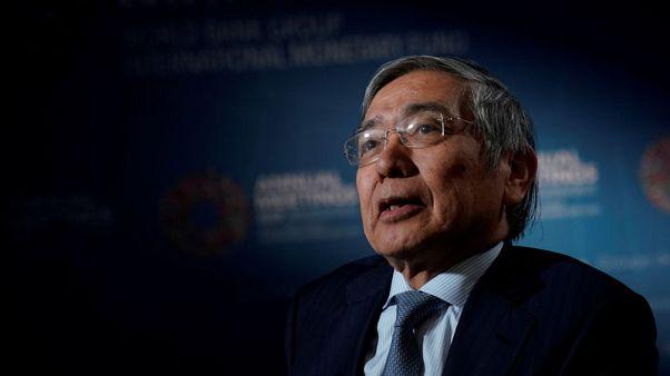 BOJ's Kuroda offers endorsement to more fiscal spending