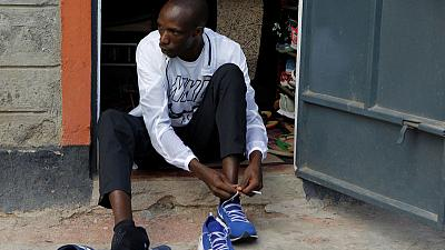 Olympic hopeful Cheruiyot pushed by fellow Kenyan runner