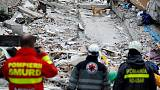 Rescuers keep working in Albanian town as death toll hits 40