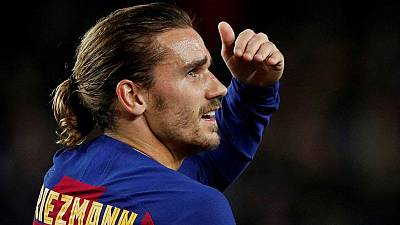 Griezmann heads back to Atletico in crunch game for Barca