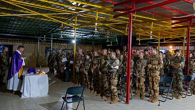 Macron tells army: 'all options open' in Sahel after Mali deaths