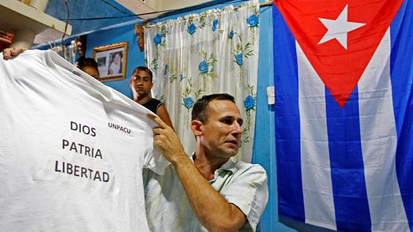 EU parliament condemns Cuba's detention of top dissident