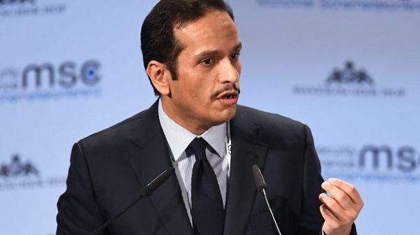 Qatari foreign minister's Saudi visit seen easing Gulf rift