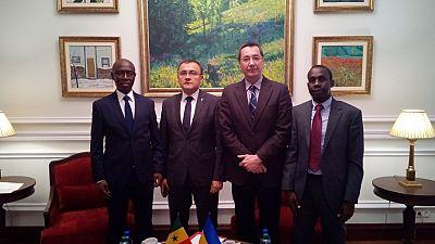 Deputy Minister Vasyl Bodnar met with Ambassador of Senegal to Ukraine Mr.Amadou DABO