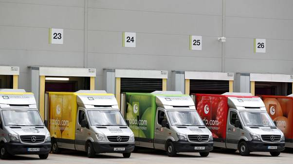 Britain's Ocado signs technology partnership with Japan's Aeon