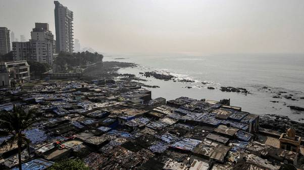 Mumbai slum-dwellers by the sea live at the mercy of climate change