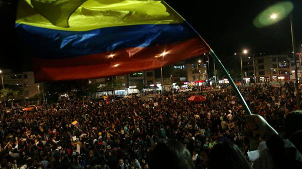 Colombia strikers expand demands, include possible talks with rebels