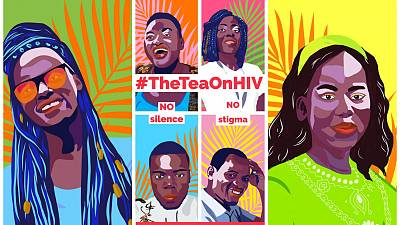 World Health Organization (WHO) is spilling #TheTeaOnHIV for at least one million young Africans
