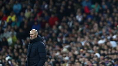 Zidane urges out-of-favour Vinicius to stay patient