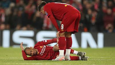 Fabinho's ankle injury to rule him out till January - Liverpool