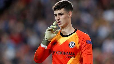 Chelsea's Lampard defends under-fire goalkeeper Kepa