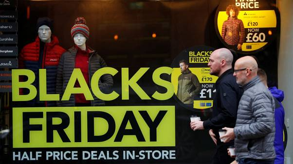 UK Black Friday transactions jump 12.5% versus 2018 - Barclaycard