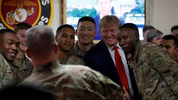 No phones, scripted tweets - How Trump's Afghanistan trip was kept under wraps