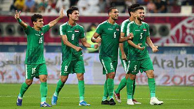 Iraq beat UAE 2-0 to reach Gulf Cup semi-finals