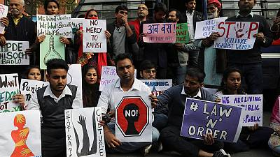 Indian protesters demand justice for vet's murder, suspected rape