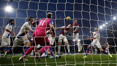 Palace end winless run with victory at Burnley