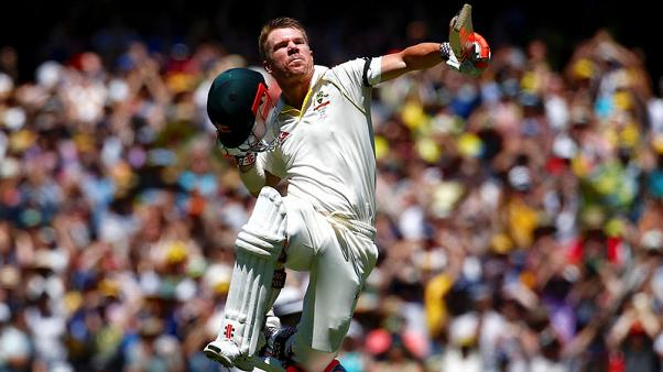 Australia declare at 589-3 after Warner gets triple-century
