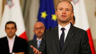 Maltese prime minister says he is stepping down amid crisis over murdered journalist probe