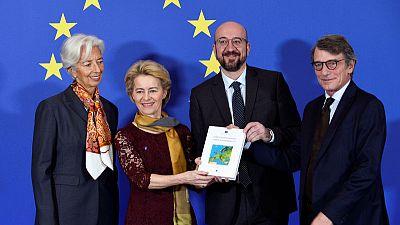 EU leaders mark a decade of Lisbon Treaty amid calls for reform