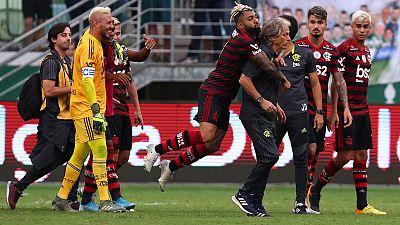 Champions Flamengo beat Palmeiras 3-1 in Brazil's Serie A