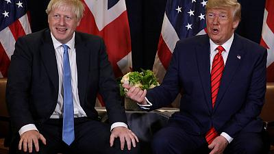 Trump off to London for NATO summit, under pressure to steer clear of British election