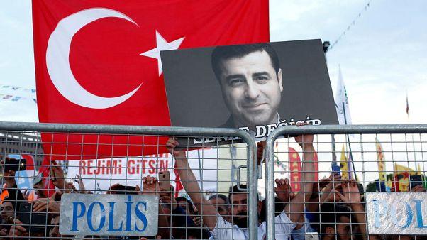 Jailed pro-Kurdish leader unwell but not taken to hospital - lawyer