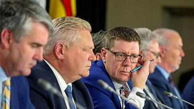 Canadian provincial leaders seek more money for healthcare and struggling oil patch