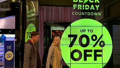 Black Friday sales in Britain jump 16.5% by value - Barclaycard