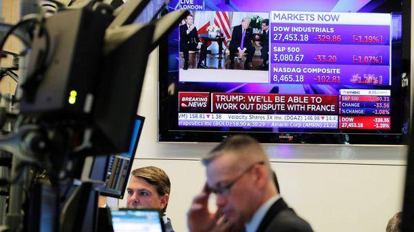 Fear of expanding trade war sinks global equities; bonds rally