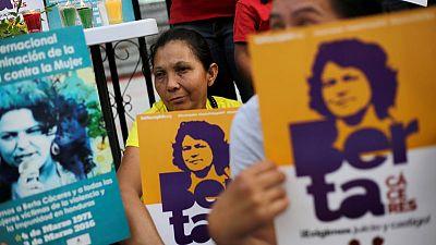 Honduras court orders 50-year jail terms in case of slain dam activist