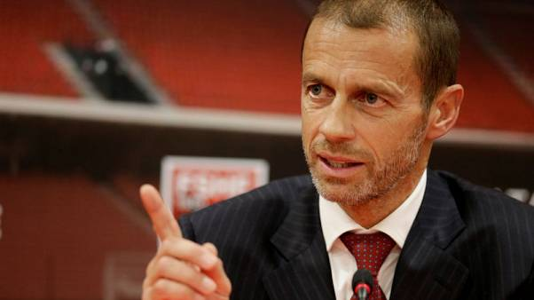 UEFA's Ceferin says fight against racism needs more work