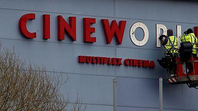 Cineworld sees lower full-year revenue on weaker box office demand