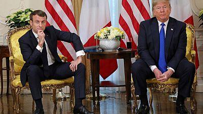 Bromance or bad date? Trump, Macron trade barbs over tariffs, NATO