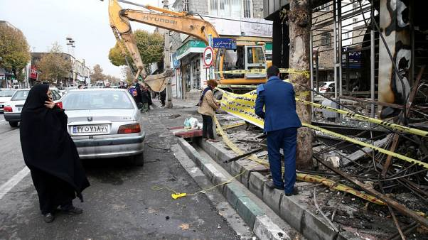 Iran acknowledges security forces killed protesters in nationwide unrest