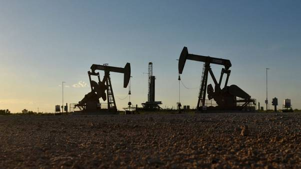 Oil rises before OPEC+ meet, lifted by drop in U.S. crude stocks