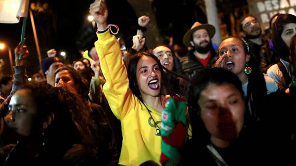 Colombian unions, student groups to hold third national strike