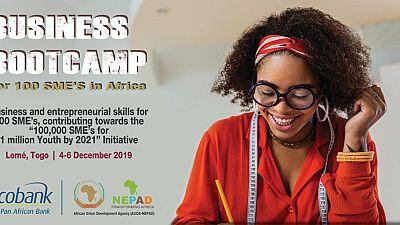 Camp de Formation en Gestion des Affaires pour 100 PME en Afrique