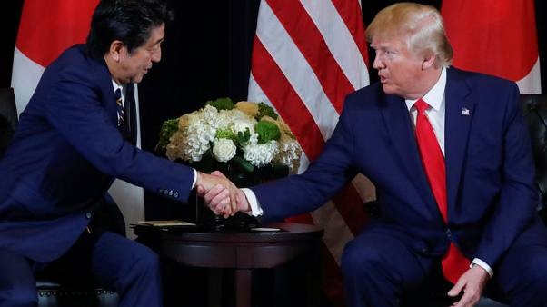 Trump to sign U.S.-Japan trade deal proclamation next week - trade representative