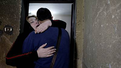 After 20 years, Palestinian mother and son reunited in Egypt
