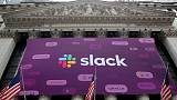 Slack forecast disappoints as competition weighs, shares drop