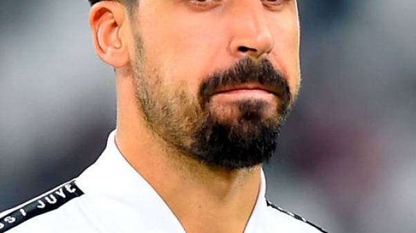 Juve midfielder Khedira out for three months after knee surgery