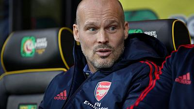 Arsenal interim boss Ljungberg plans Pepe pep talk