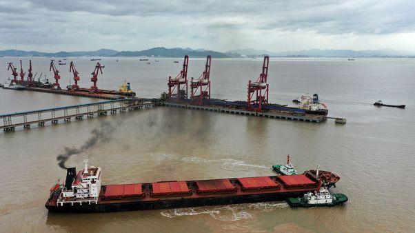 China's November exports seen up modestly, but Sino-U.S. trade still major risk