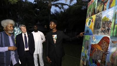 Soyinka, business leaders and top musical artists rally for children's rights