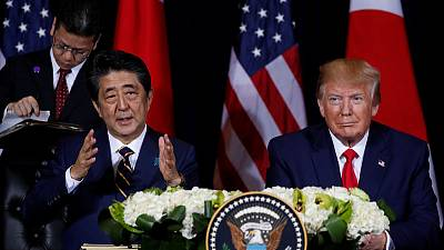 Japan's Abe - Will make preparations for January trade deal with U.S.