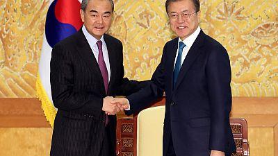 South Korean president hears reassurances from senior Chinese diplomat